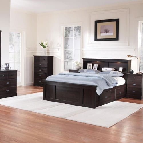 Bayfield Espresso Maple Bedroom Furniture