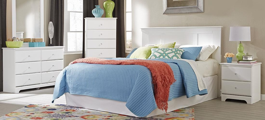 Classic White Bedroom Furniture | Lang Furniture | ADELL ...
