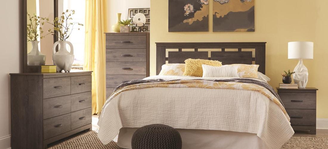 Lang Furniture Neenah In Distressed Gray