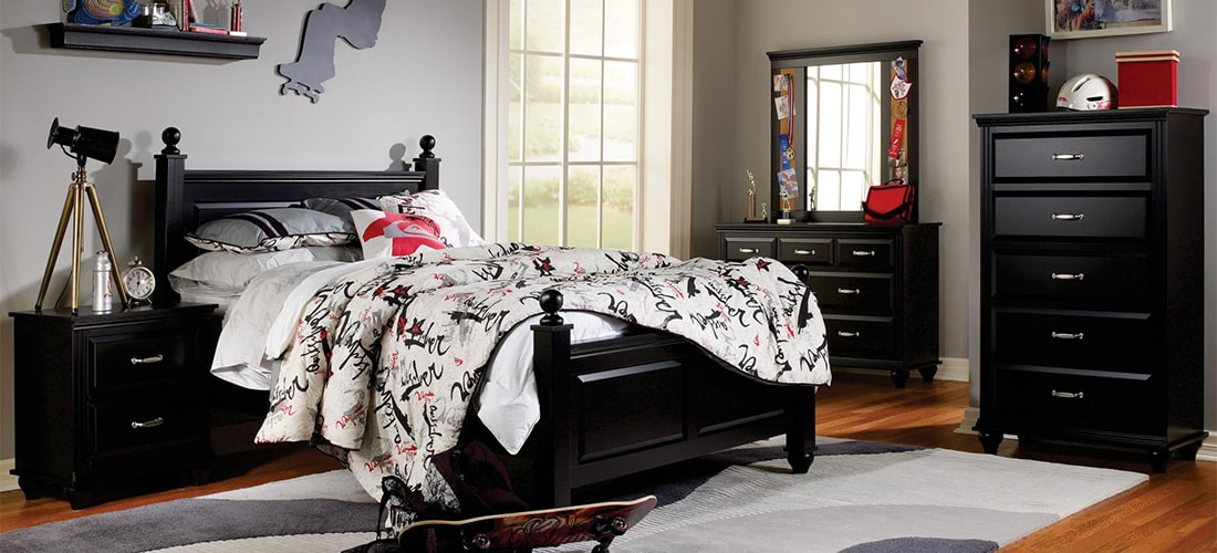 Kids Black Bedroom Furniture Lang Furniture Madison Collection