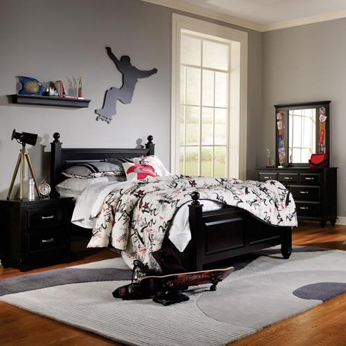 Madison Black Bedroom Furniture