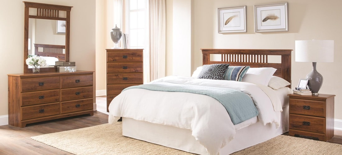 Lang Furniture Ashland in medium oak