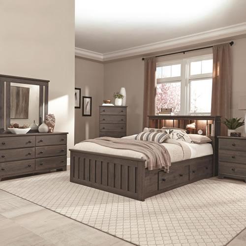 Shaker Rodeo Oak Bedroom Furniture