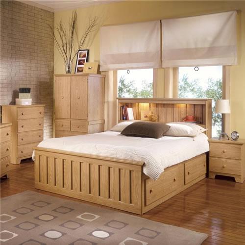 Shaker Northern Oak Bedroom Furniture