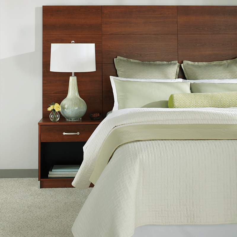 lang simple chic hotel furniture Headboard Maple
