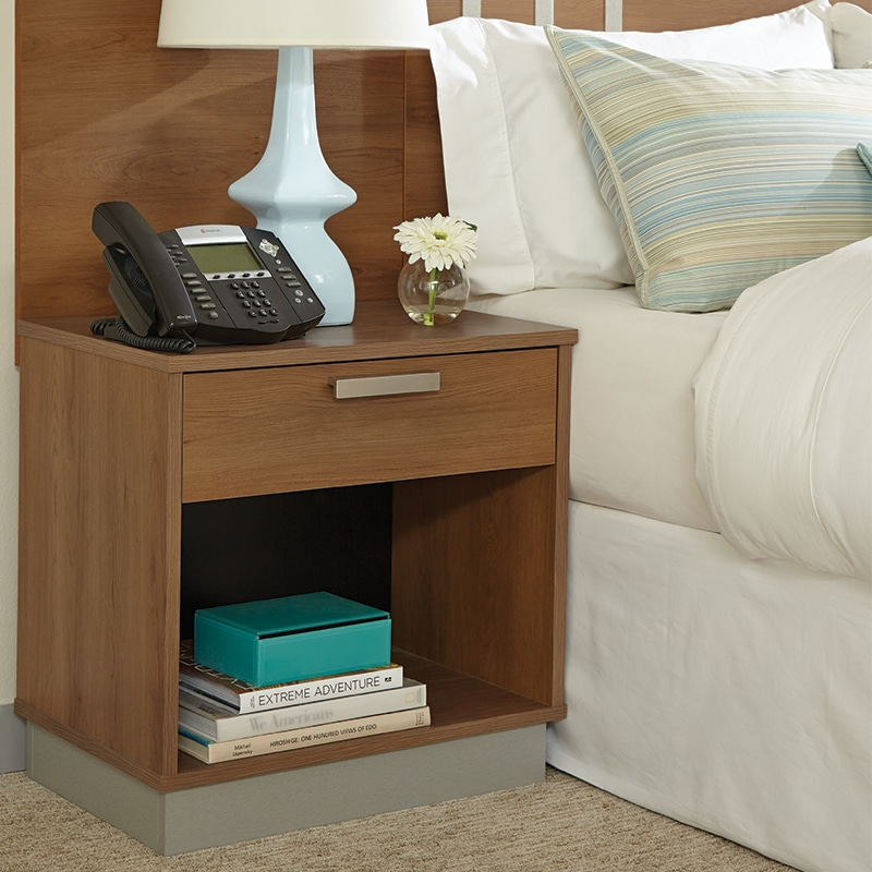 lang transitional hotel furniture Nightstand