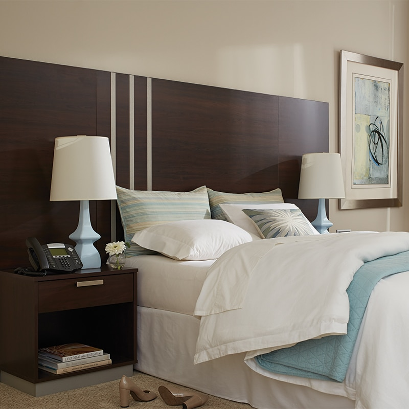 lang transitional hotel furniture Marine Vermont Maple