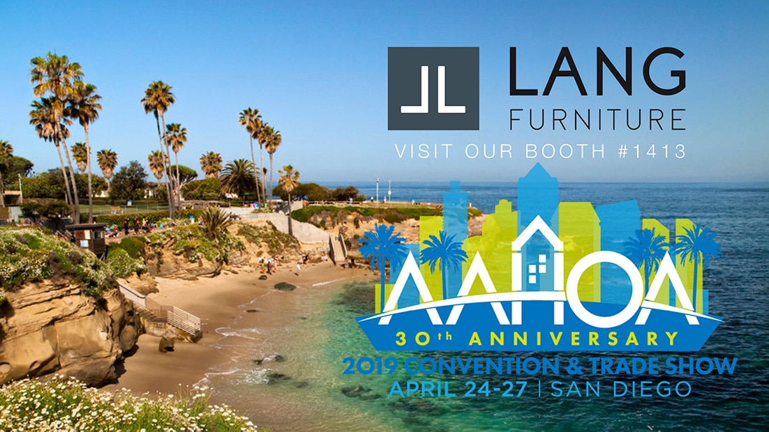 Lang Furniture AAHOA Trade Show