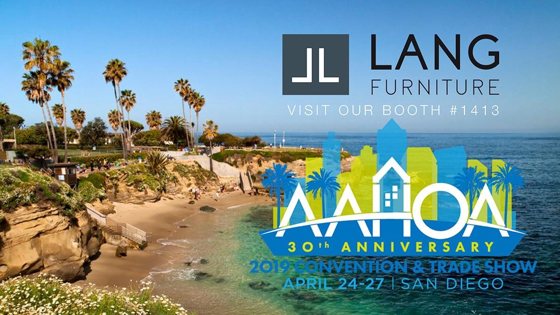Visit Lang Furniture at the AAHOA Trade Show