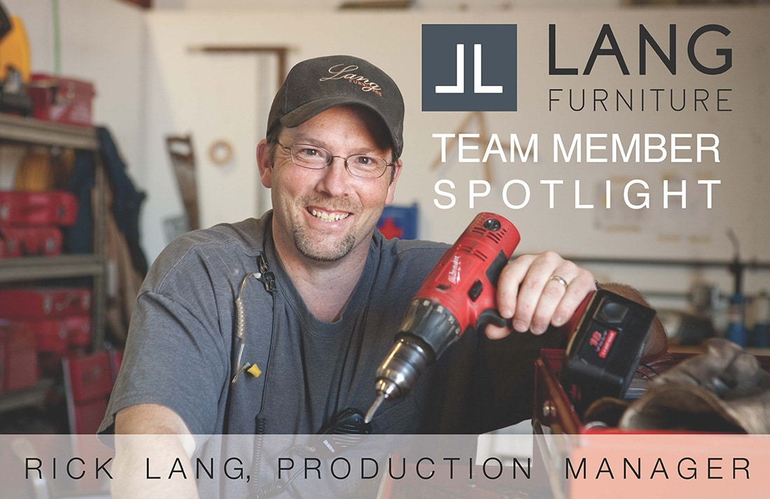 Rick Lang Lang Furniture Production Manager