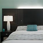 Geneva Headboard Nightstands