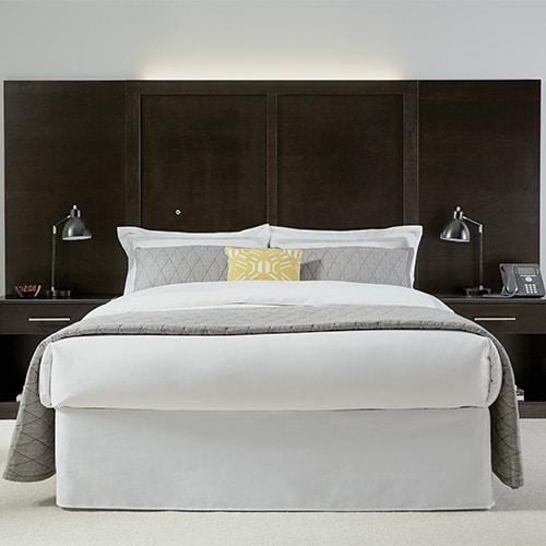 Arlington Collection Headboard with Wall Guards