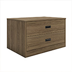 Badger Collection 2-Drawer Storage Walnut